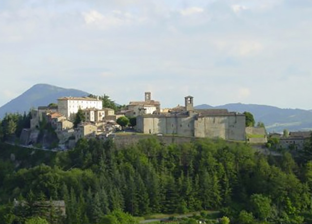 Easter Monday in Montone: Magical