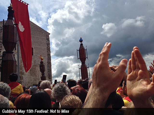 Gubbio's May 15th Festival: Not to Miss