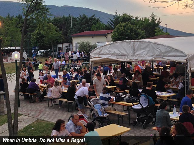 When in Umbria, Do Not Miss a Sagra!