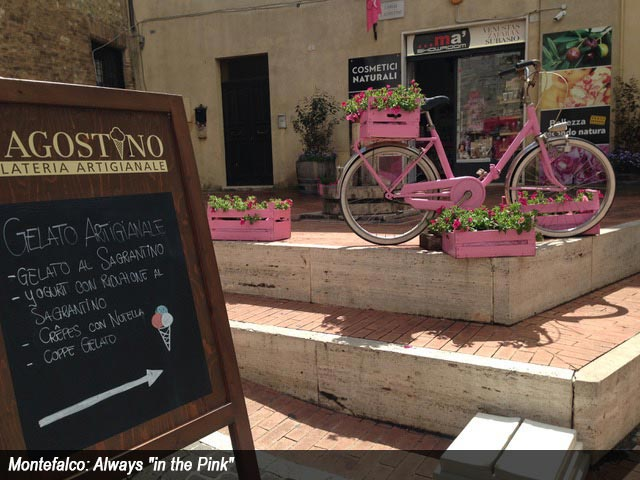 "Montefalco: Always ""in the Pink"""