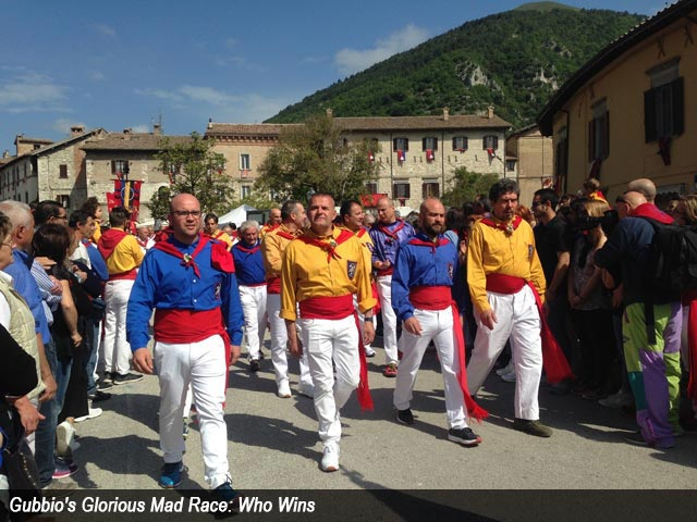 Gubbio's Glorious Mad Race: Who Wins?