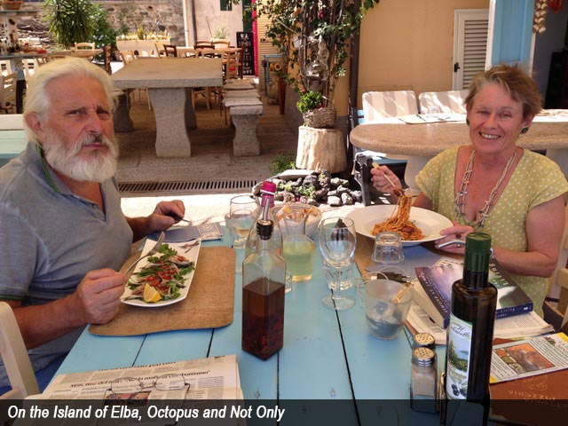 On the Island of Elba, Octopus and Not Only