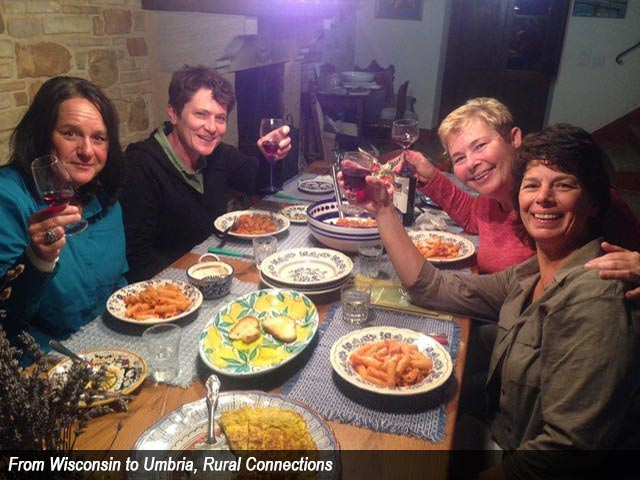 From Wisconsin to Umbria, Rural Connections