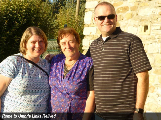 Rome to Umbria Links Relived