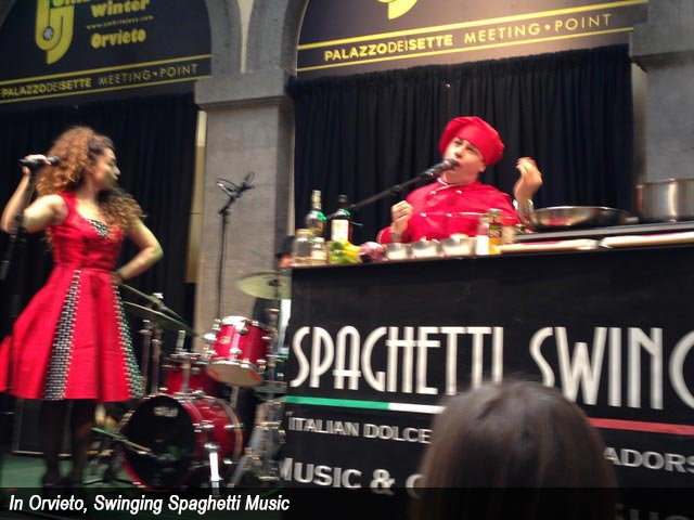 In Orvieto, Swinging Spaghetti Music