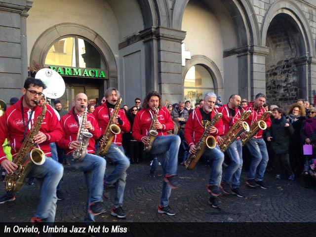 In Orvieto, Umbria Jazz Not to Miss
